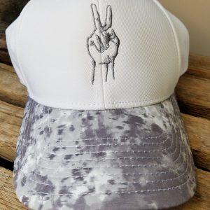 digitized white deuces hat
