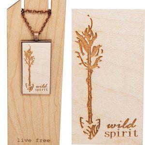 wild spirit pendant necklace