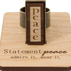 """""""peace"""" ring"""