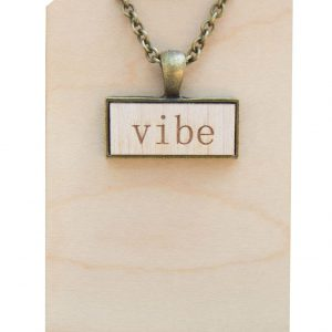 vibe pendant necklace